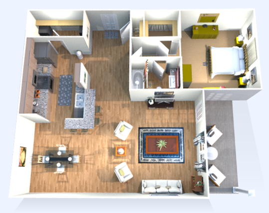 Apartment Floor Plans Murfreesboro TN